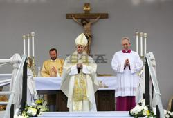 Pope Francis Celebrates Holy Mass in Sofia