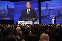 President Radev Participates in Presidential Panel of St. Petersburg Economic Forum