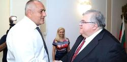 PM Borissov Confers with Bank for International Settlements Head Carstens