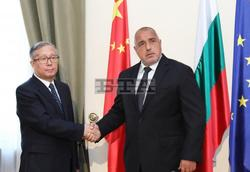 PM Borissov Meets with Chinese Delegation Visiting Sofia