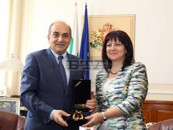Parliament Leader of Cyprus Pays Official Visit in Sofia