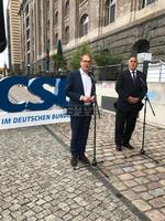 Prime Minister Borissov Attends Christian Social Union Session in Berlin