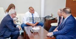 PM Borissov Confers with World Medical Association President Eidelman
