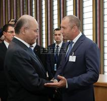 President Radev Meets with Iraqi, Moldovan Counterparts in New York