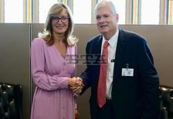 Foreign Minister Zaharieva Confers with Costa Rican Counterpart