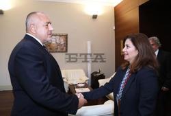 PM, Deputy Foreign Minister Meet with Princess Dana Firas of Jordan
