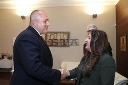 PM Borissov Meets with New US Ambassador Mustafa