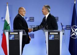 Prime Minister Borissov Confers with NATO Secretary General Stoltenberg in Brussels
