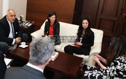 Bulgarian PM Borissov Meets with US Ambassador Mustafa
