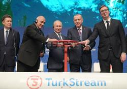 Prime Minister Borissov Attends Launch of TurkStream Pipeline