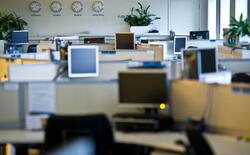 Колко фирми работят на пълен обем в офисите?