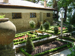 The Balchik Botanical garden and palace in the town of Balchik